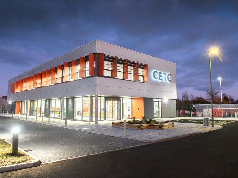 CETC at night