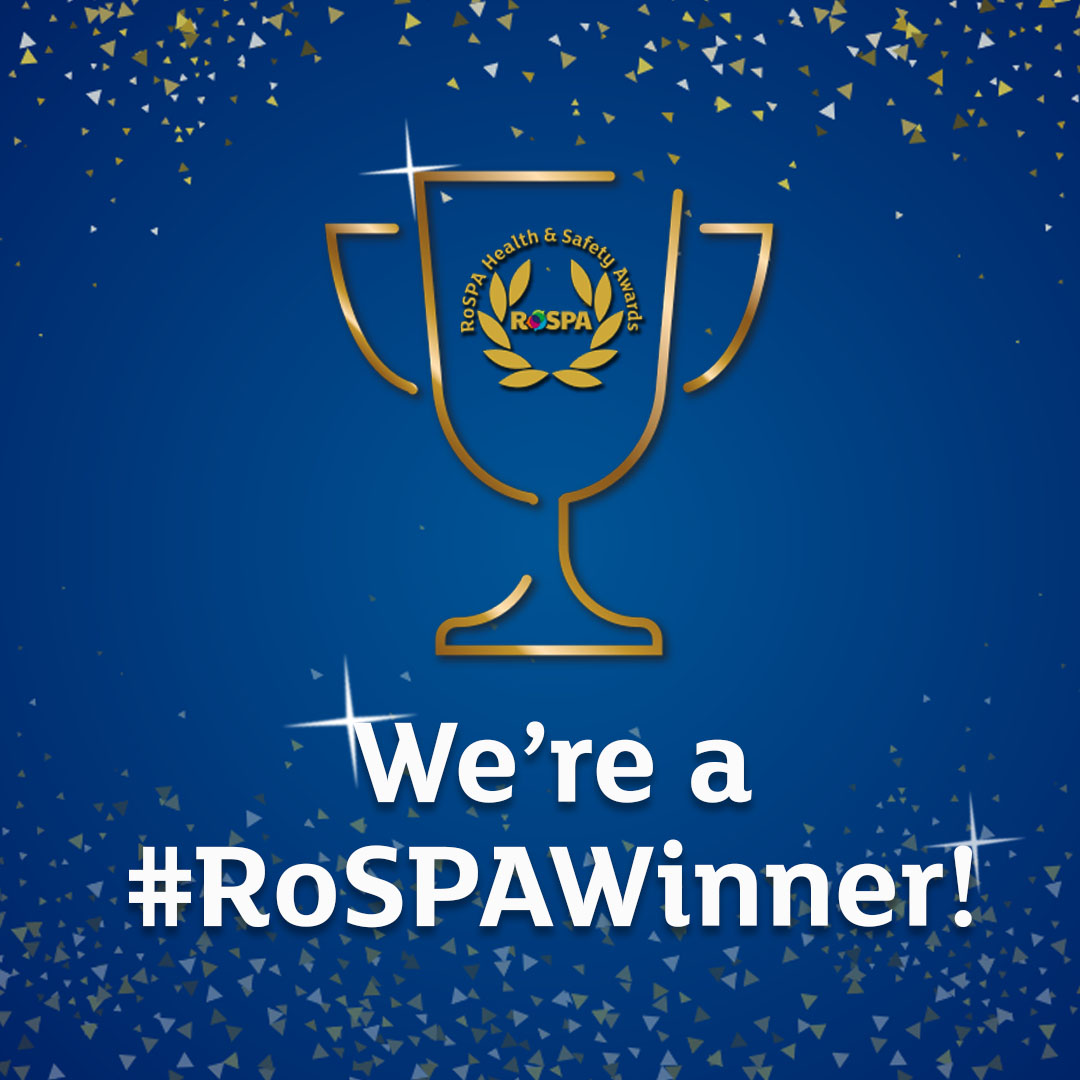 We're a rospa Winner Cup Instagram