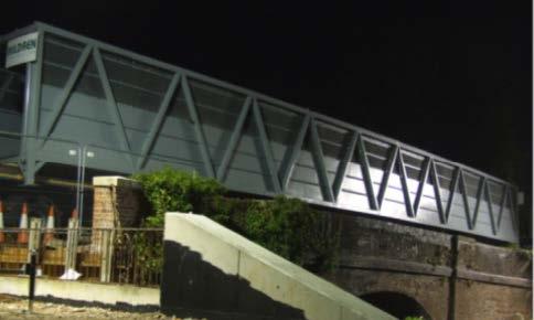 1 North Baddesley Footbridge,