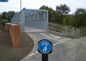 3 North Baddesley Footbridge,